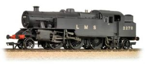 Bachmann 32-880 LMS Fairburn Tank, No.2278, Plain Black Livery